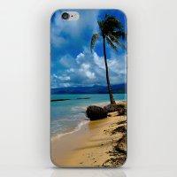 hawaiian iPhone & iPod Skins featuring Hawaiian Dreams by Upperleft Studios