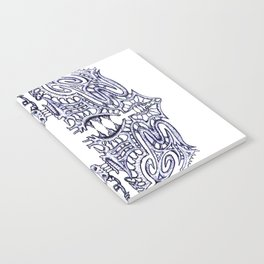 Alien Abstract Notebook