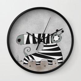 Grey Mummynimal Wall Clock