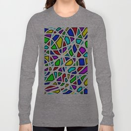 rainbow clown Long Sleeve T-shirt