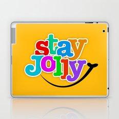 Stay Jolly - Key to Happiness Laptop & iPad Skin