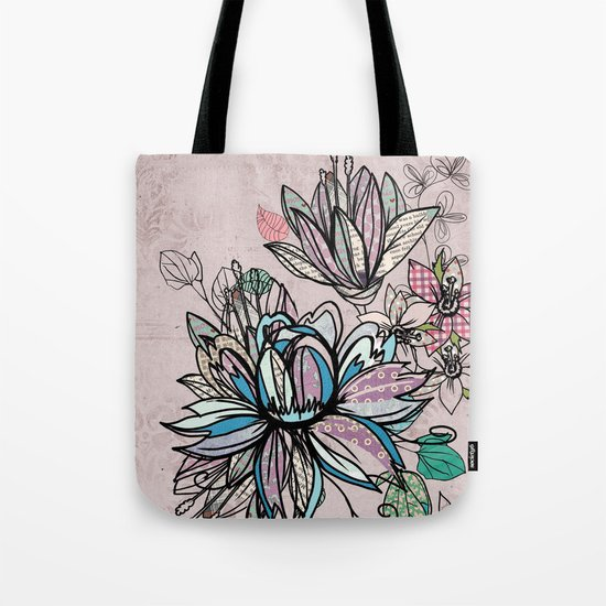 Paper Flowers #1 Tote Bag