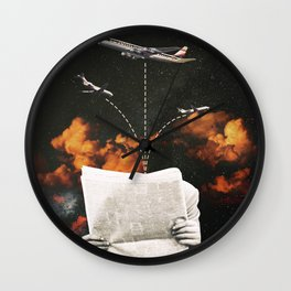 Flight - Midnight Version Wall Clock