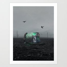 Recharge Your Mind Art Print