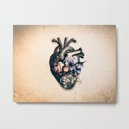 My Blossomed Heart Metal Print