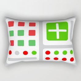 Alpha One Rocket Base Rectangular Pillow