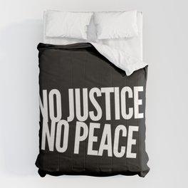No Justice No Peace Comforters