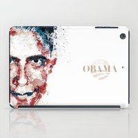obama iPad Cases featuring Obama by I AM DIMITRI