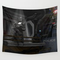 trooper Wall Tapestries featuring Future Trooper by gypsykissphotography