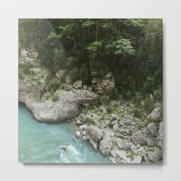 Hiking in France Metal Print