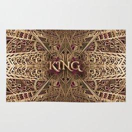Rose Gold King Rug