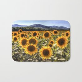 The Sunflower Summer Bath Mat