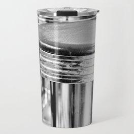 VINTAGE DINER BAR STOOLS - BYGONE ERA - MID CENTURY CHIC Travel Mug