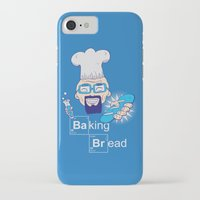 baking iPhone & iPod Cases featuring Baking Bread by DarkChoocoolat