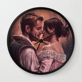 It's Like A Story Of Love Wall Clock