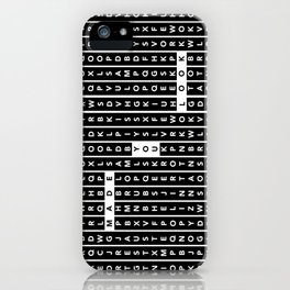 Word play iPhone Case