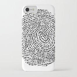 Animal Fingerprint iPhone Case