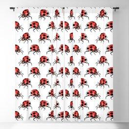 Funky ladybug Blackout Curtain