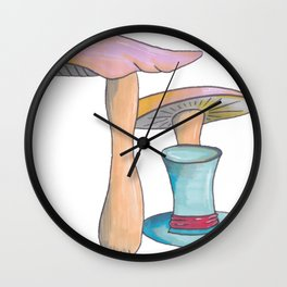 Mad Hatter's Hat Wall Clock