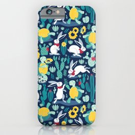 The tortoise and the hare iPhone Case