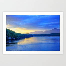 In The Blue Hour Art Print