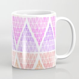 Stacked Triangles - Warm Coffee Mug