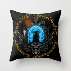 The one ring V3 Throw Pillow