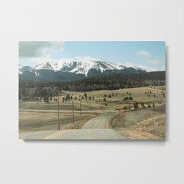 Mountains of Colorado Metal Print