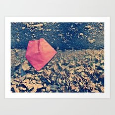 Red Letter Day Art Print