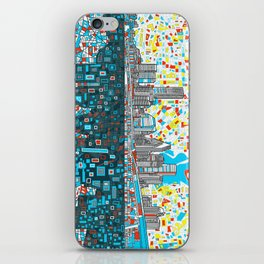 houston city skyline iPhone Skin