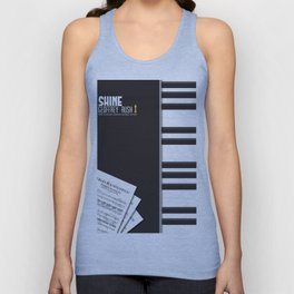 Shine -Geoffrey Rush, David Helfgott, Scott Hicks, Alternative Movie Poster, minimal Unisex Tank Top