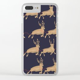 Deers Clear iPhone Case