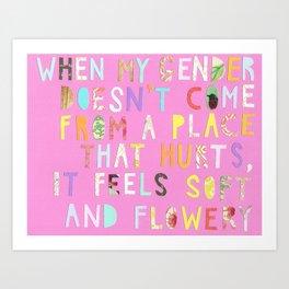 tenderqueerthings #3 Art Print