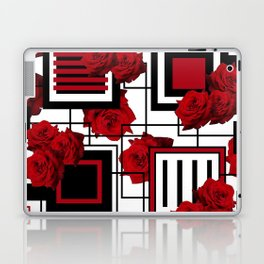 Behind the Rosey Bars Laptop & iPad Skin