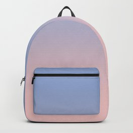 Pantone Rose Quartz and Serenity Ombre Backpack