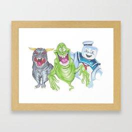 Lifebusters Framed Art Print