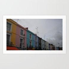 Colourful Daze Art Print