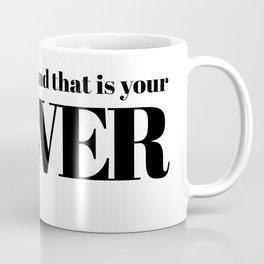no one is you Coffee Mug