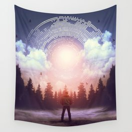 Waiting for the Sun to Rise Wall Tapestry