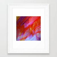 watercolour Framed Art Prints featuring watercolour by Lara Gurney