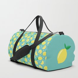 Juicy lemon pattern Duffle Bag
