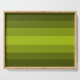 Dark Green Pear - Color Therapy Serving Tray