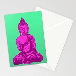 Neon Siddhartha Stationery Cards