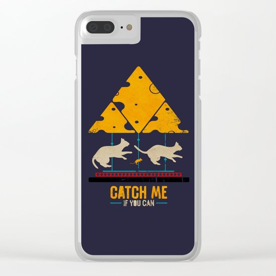 Mouse Trap? Clear iPhone Case
