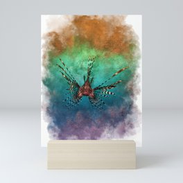 Lion fish Mini Art Print