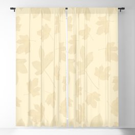 Exotic leaves pattern 38 Blackout Curtain