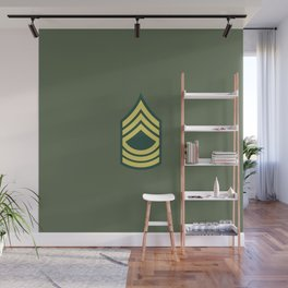 Master Sergeant (OD Green) Wall Mural