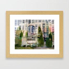 "00:15:58, ""Acquired Aberration"" series Framed Art Print"
