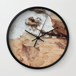 Bluff Breaker Wall Clock
