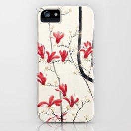 Kobayashi Kokei - Magnolia Tree iPhone Case